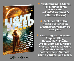 Lightspeed: Year One, edited by John Joseph Adams