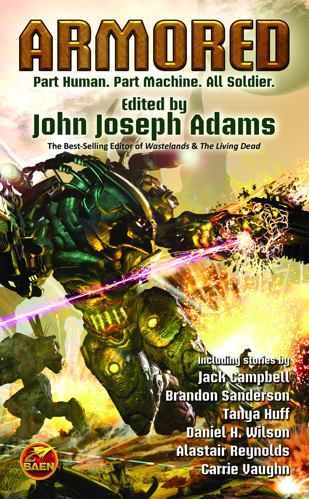 Armored, edited by John Joseph Adams