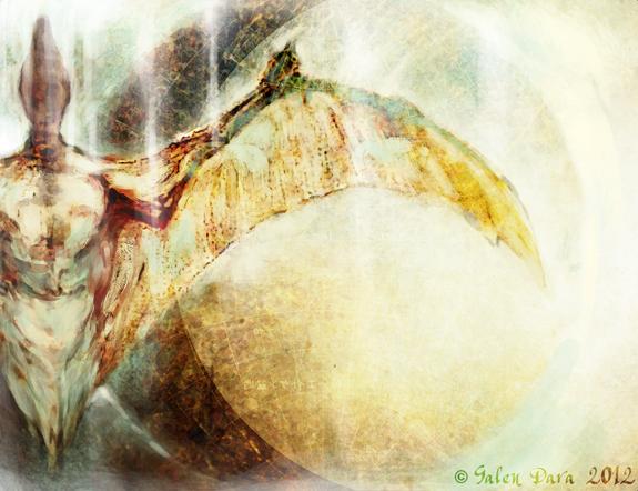 Contact by Eileen Gunn, Illustration by Galen Dara