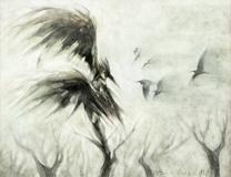 The Herons of Mer de l'Ouest by M. Bennardo
