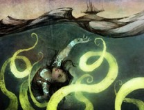 Breathless in the Deep by Cory Skerry (Illustration by Galen Dara)