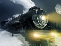 Harry and Marlowe Versus the Haunted Locomotive of the Rockies by Carrie Vaughn