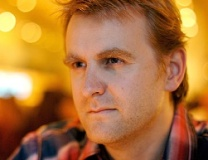 Nick Harkaway - photo by Stefan Bernd, Creative Commons license