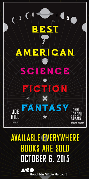 Best American Science Fiction & Fantasy 2015