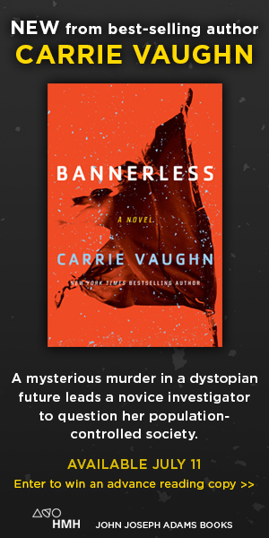 BANNERLESS by Carrie Vaughn