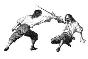 When Two Swordsmen Meet