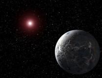 Artist rendition of OGLE-2005-BLG-390Lb (Photo Credit: NASA)