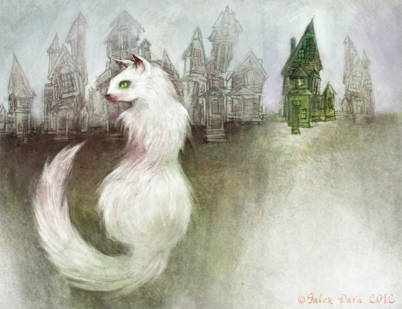Catskin by Kelly Link (illustrated by Galen Dara)