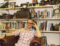 Cory Doctorow, Photo by Paula Mariel Salischiker