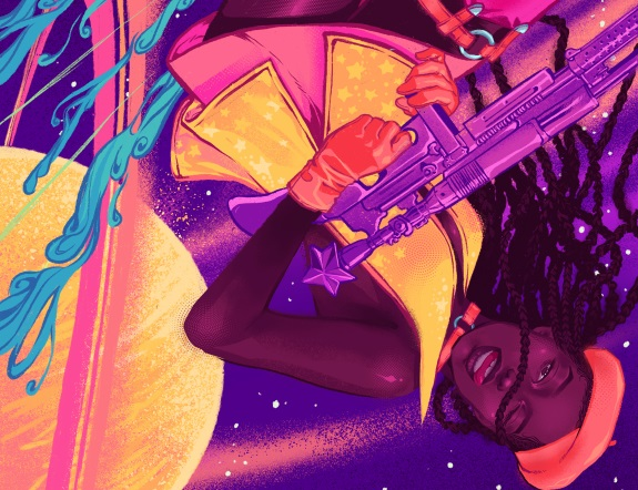 The Null Space Conundrum illustration